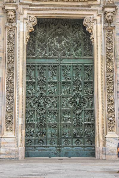 The Duomo, Milan. The exterior