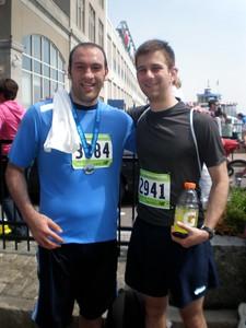 090524 Zak Running 1/2 Marathon