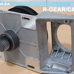 SKU: R-GEAR/CAST, Casting Aluminium Gearbox for EasyRoute CNC Router