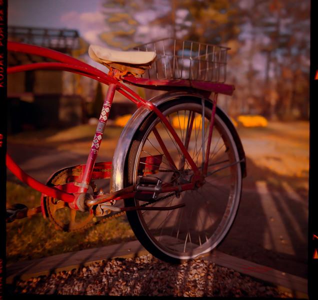 Bike with Flat Tire