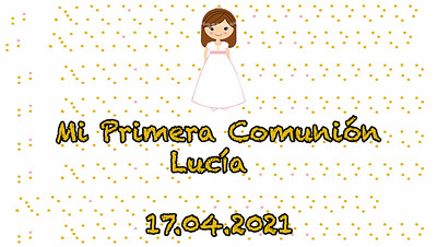 Comunión Lucía