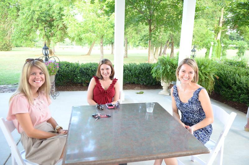 Jen Snow, Heather Webster, Mary-Rachel Bowling