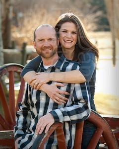 Andrea Bohmholdt - Joel Provencher Engagement Portrait