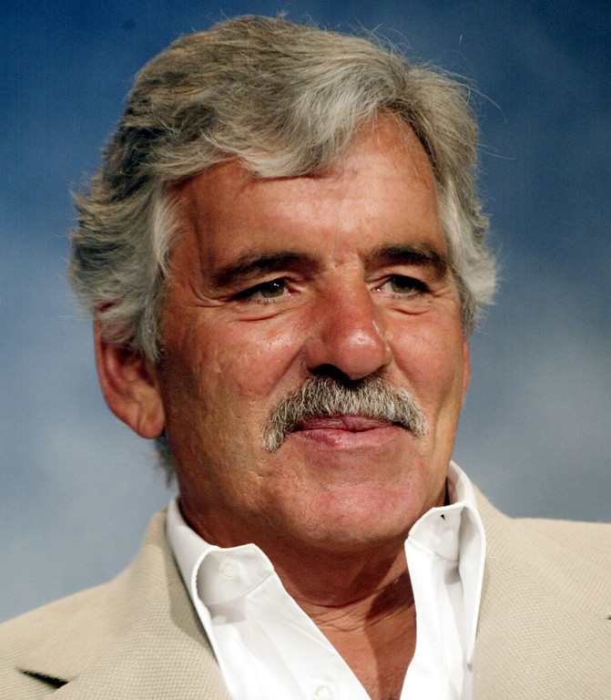 . Actor Dennis Farina who appears on the television show the In-Laws attends the NBC Press Tour at the Ritz Carlton Hotel on July 23, 2002 in Pasadena, California.  (Photo by Frederick M. Brown/Getty Images)