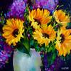 Glow in the Dark Sunflowers