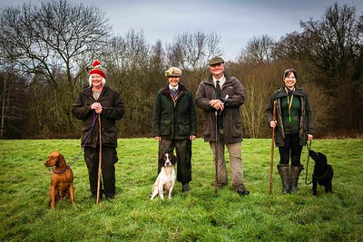 Vale & West Gundog Training at Besford Shoot