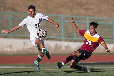 Men's Soccer - PCC vs ELAC 20151030