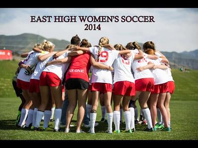 East High Women's SOccer  DVD 2014