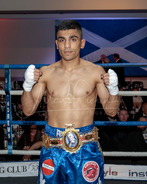 British Bantamweight Title Event
