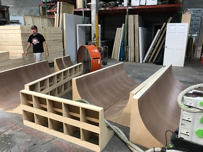 The Weather Group Cyc Build 8/18