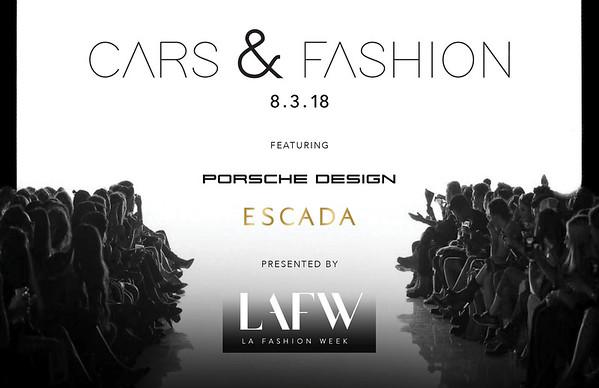 Escada and Porsche Design by LAFW 2018