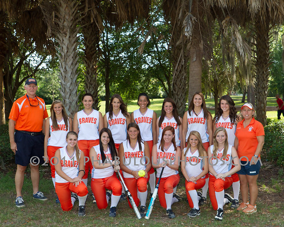 Boone Softball Team Pictures - 2011