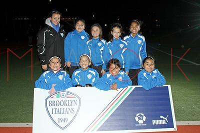Brooklyn Italians S.A. Roma U-10 Girls Team Photos