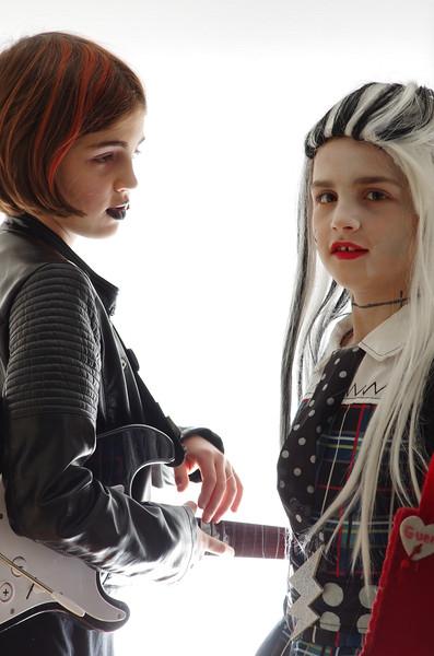 Halloween sisters.