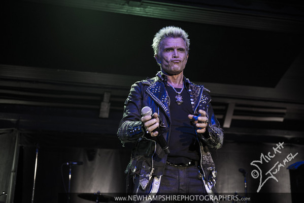 Billy Idol at The Hampton Beach Casino Ballroom - NH