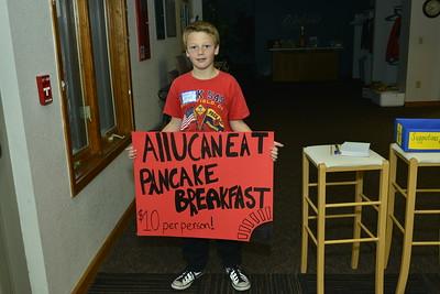 Cub Scout Pancake Breakfast 4-21-2018