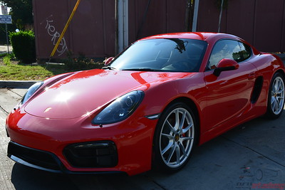 2016 Porsche 981 Cayman GTS - Guard Red