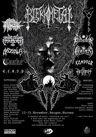 ENSLAVED - Blekkmetal 13/11 2015