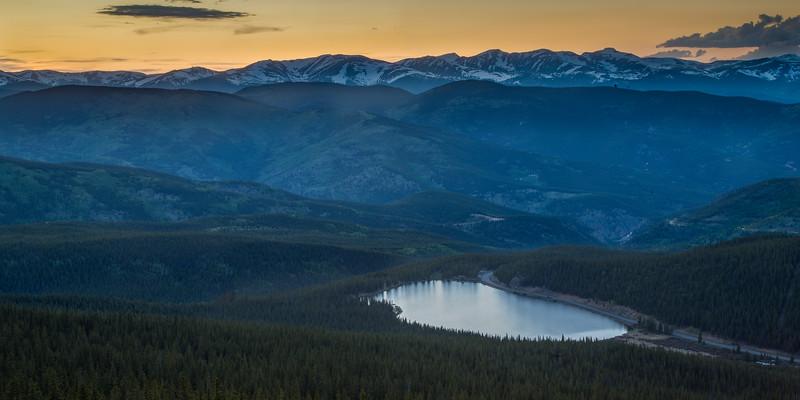 Echo Lake after Sunset