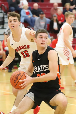 06V Boys Basketball:  Wheelersburg at Jackson 2019