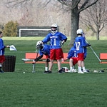 Lacrosse game vs Grymes 4/9/13