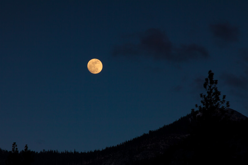 Moonrise at Yosemite