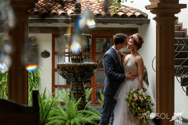 Amelie & Chris, Hacienda San Angel
