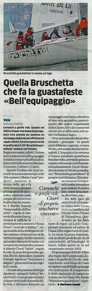 2013Nov20_Interlaghi |La Provincia di Como| Quella Bruschetta che fa la guastafeste Bell'equipaggio.jpg