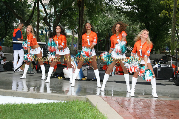 Dolphin's Pep Rally - Fort Lauderdale