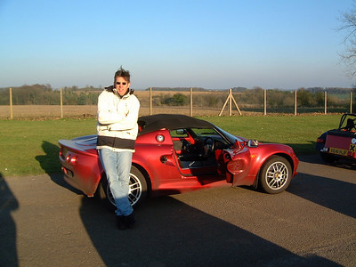 Lotus Elise Track Day with Clive nr Bristol: 2001
