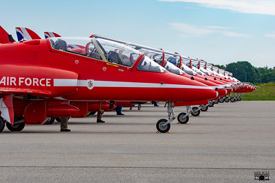 2019 - RAF Red Arrows in Gatineau
