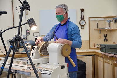 Woodturning with Jimmy Clewes Spring 2021