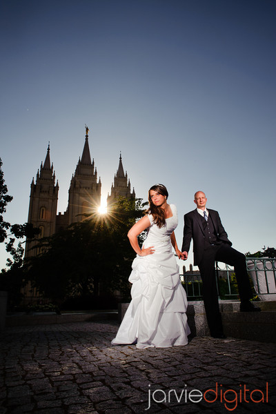 Formals at Salt Lake Temple