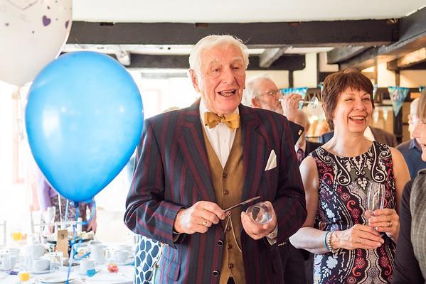 Barbara&Ted Diamond Wedding 60 years married. Tottington Manor Henfield Sussex.