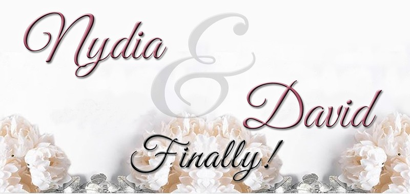 NYDIA & DAVID WEDDING DAY