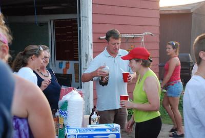 2010 08 09:  Duluth Rowing Club, Ice Cream Social