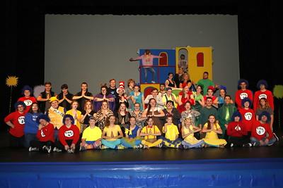 "High School Theatre - 5/1/2018 ""Seussical"" Dress Rehearsal"