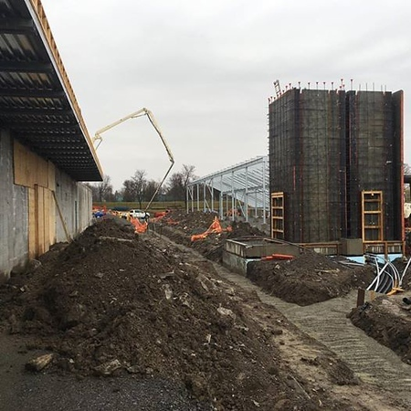 Elevator Shaft going in, March 31, 2016