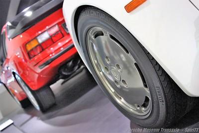 Porsche Museum exposition Transaxle