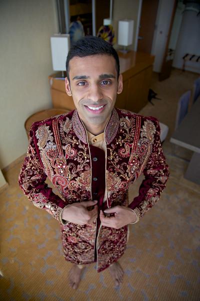 Le Cape Weddings - Indian Wedding - Day 4 - Megan and Karthik Groom Getting Ready 5.jpg