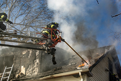 4 Alarm Structure Fire - Walcott St, Maynard, MA - 3/15/20