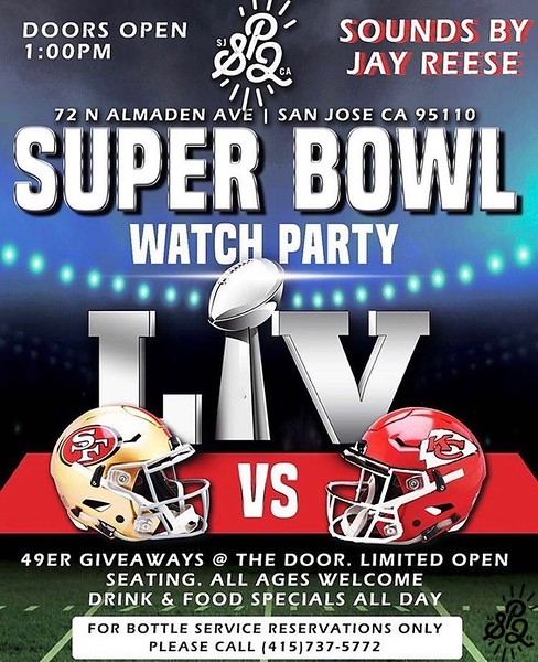 Superbowl Watch Party @ SP2 Communal Bar 2.2.20
