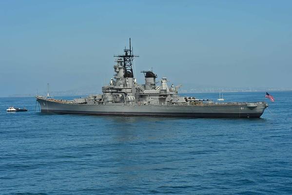 USS Iowa Battleship, The FInal Voyage