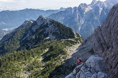 08 30 North ridge of Mala Mojstrovka