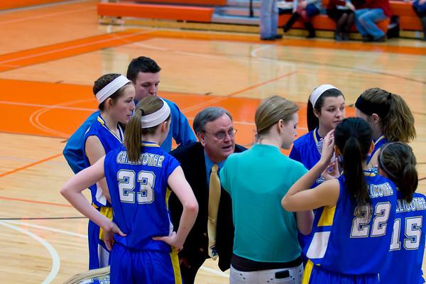 Girl's Basketball - IACS 2013