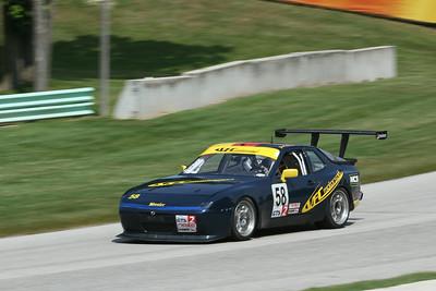 GTS2 #58 Porsche 944 @ Road America, August 2014