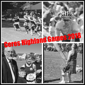 The 2018 Ceres Highland Games
