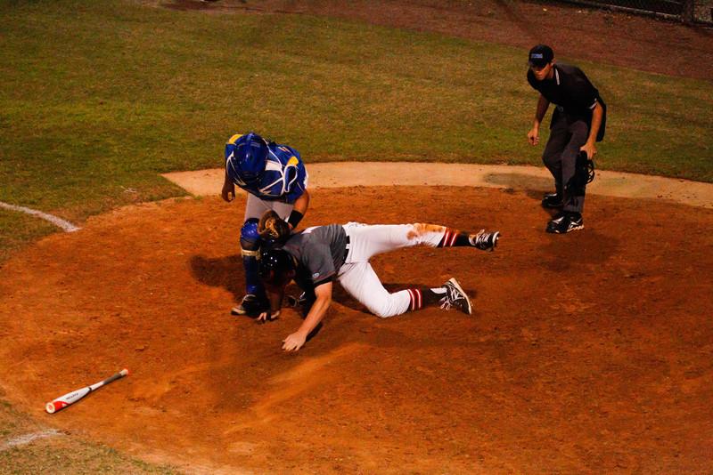 LHPS Var. Baseball vs Lyman 2-19-2014