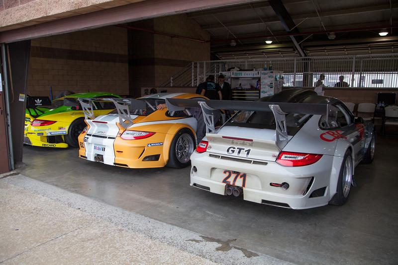 Porsche 911 GT3 Cup racers
