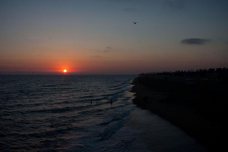 Hungington Beach Sunset